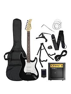 rocket-rocket-electric-guitar-pack-in-black-with-free-online-music-lessons
