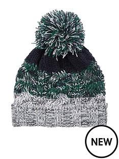 river-island-mini-boys-green-knit-stripe-beanie-hat