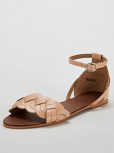 v-by-very-hatti-leather-plait-strap-huarache-sandal