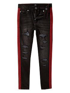 river-island-boys-danny-skinny-ripped-tape-jeans-black