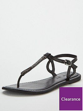 v-by-very-harmony-leather-embellished-toe-post-sandals-black