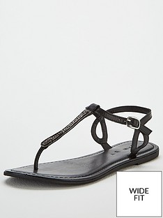v-by-very-harmony-leather-embellished-toepost-sandal