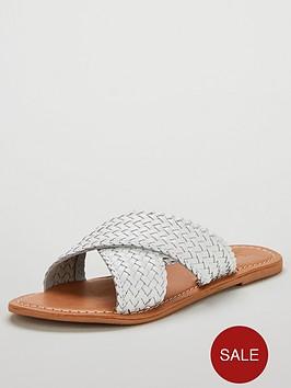 v-by-very-heidi-leather-cross-strap-sandal-white