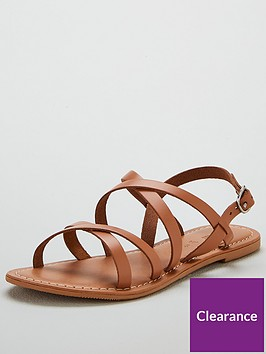 v-by-very-hannah-strappy-leather-flat-sandals-tan