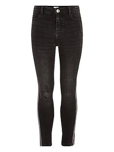 river-island-girls-amelienbsptape-distressed-jeans-black