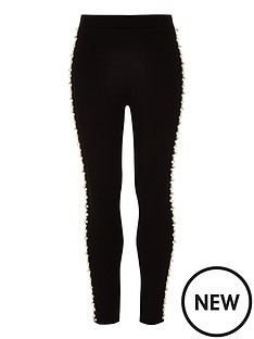 river-island-girls-black-ponte-pearl-embellished-leggings