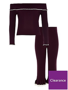 river-island-girls-knit-ribbed-bardot-top-outfit