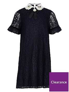 river-island-girls-navy-lace-embellished-collar-dress