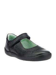 start-rite-lizzy-girls-strap-shoes-black