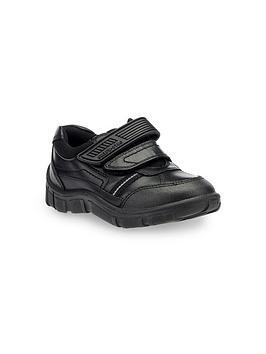 Start-Rite Start-Rite Luke Twin Strap Shoes - Black Picture