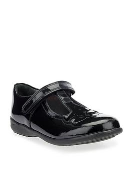 Start-Rite Start-Rite Poppy Younger Patent Strap School Shoes - Black Picture