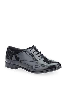 start-rite-matilda-older-girls-patent-brogue-shoe-black