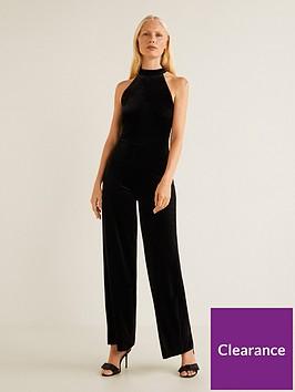 mango-halter-neck-velvet-jumpsuit-blacknbsp