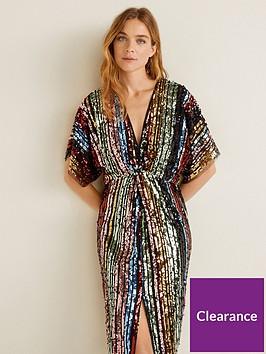 mango-rainbow-sequin-dress-multi
