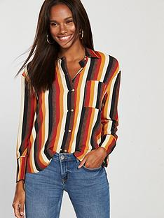 mango-striped-shirt