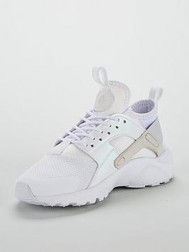a20dd221d0 Nike Air Huarache Run Ultra Junior Trainers - White Iridescent | littlewoods .com