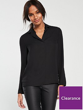 v-by-very-lace-trim-blouse