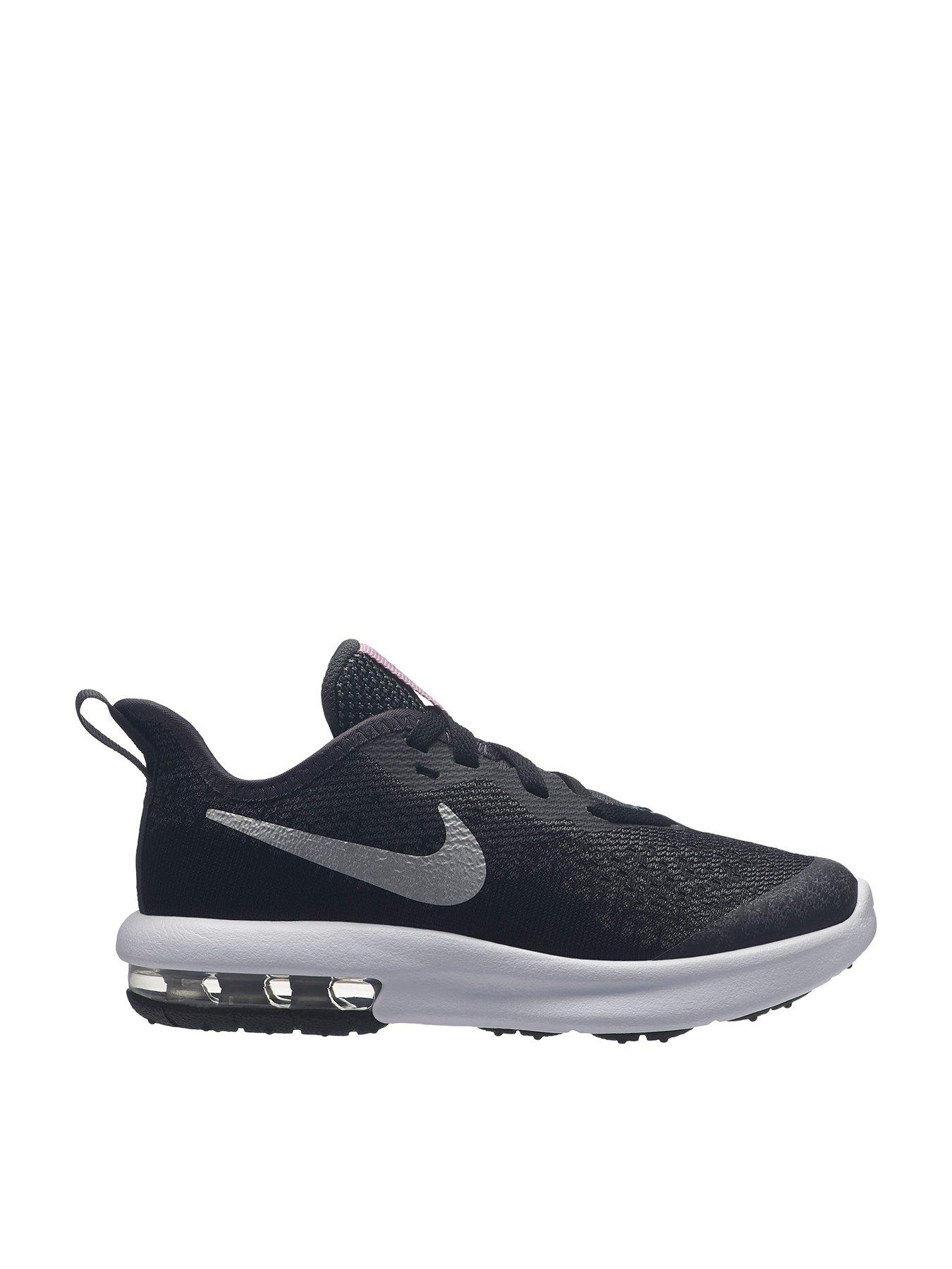 Air Max Sequent 4 Childrens Trainers Black