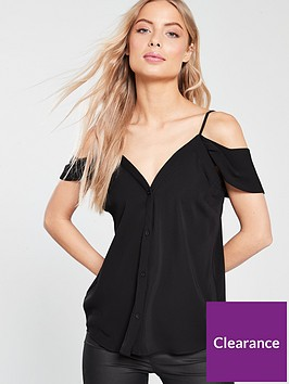 v-by-very-cold-shoulder-button-through-cami