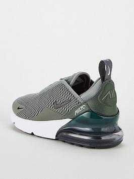 c25549cbcd Nike Air Max 270 Bg Childrens Trainers - Green   littlewoods.com