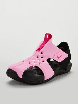 488cf4882b Nike Sunray Protect 2 Childrens Sandal | littlewoods.com