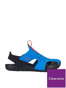 nike-sunray-protect-2-childrens-sandal-blueblacknbsp