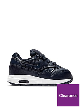 nike-air-max-1-bt-infant-trainers-navynbsp