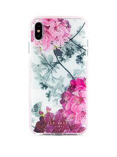 bb3ae559f60d Ted Baker Ted Baker Anti Shock case iPhone XS Max OLED - BABYLON NICKEL