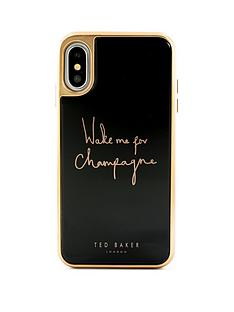 ted-baker-ted-baker-glass-inlaynbsp-iphone-xs-oled-champagne-black