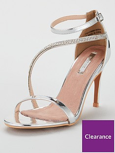 7b9ee20b473 Lost Ink Lost Ink Lila Jewelled Asyem Strapped H Sandal