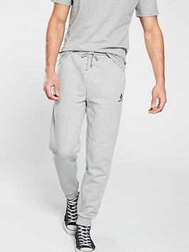 Converse Converse Star Chevron Embroidered Pants - Grey Heather Picture