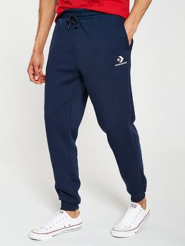 Converse Converse Star Chevron Embroidered Pant - Navy Picture