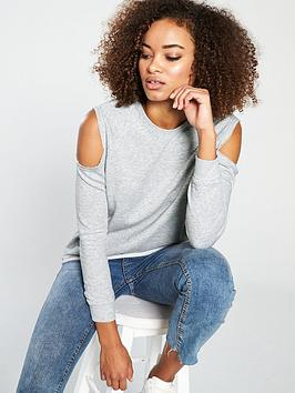 v-by-very-cold-shoulder-sweat-grey-marl