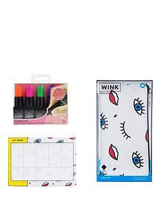 mustard-wink-planner-pencil-case-lippy-markers