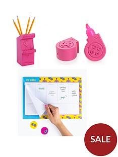 mustard-power-up-notebook-and-highlighter-set