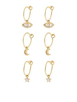 accessorize-accessorize-3x-meaningful-charm-hoop-pack-earrings