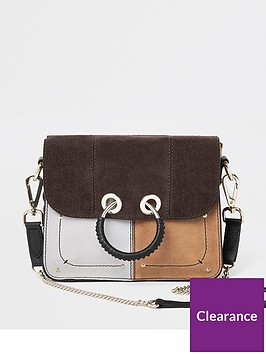 river-island-river-island-leather-cutabout-cross-body-bag-brown