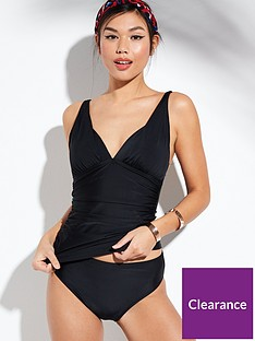 v-by-very-shapewear-plunge-tankini-set-black