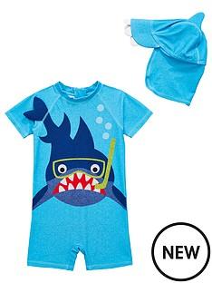 mini-v-by-very-sunsafe-shark-boys-surf-suit-blue