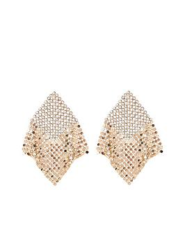river-island-chainmail-earrings-gold