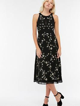 monsoon-seline-star-embellished-midi-dress-black