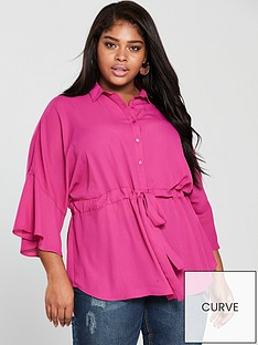 v-by-very-curve-channel-detail-blouse-pinknbsp