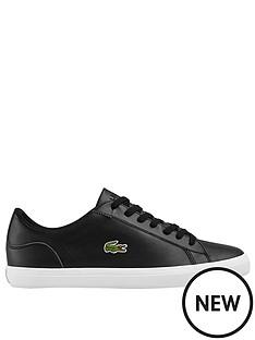 lacoste-lerond-leather-trainer-black