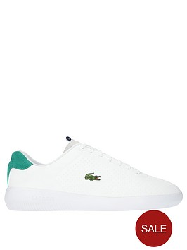 a873704bb8276e Lacoste Avance Trainers - White