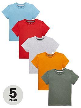 mini-v-by-very-boys-5-pack-core-t-shirts-multi
