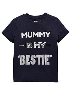 mini-v-by-very-boys-mummy-is-my-bestie-t-shirt-navy