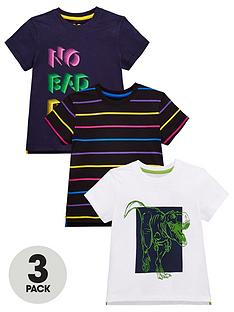 mini-v-by-very-boys-3-pack-no-bad-days-dino-and-striped-t-shirts-multi