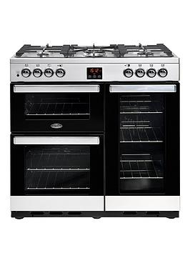 Belling   90Dft Cookcentre 90Cm Dual Fuel Range Cooker  - Rangecooker Only