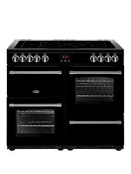 Belling   100E Farmhouse 100Cm Electric Range Cooker  - Rangecooker Only
