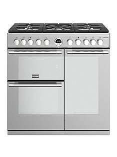 stoves-sterling-s900df-dual-fuel-90cm-range-cooker-stainless-steel